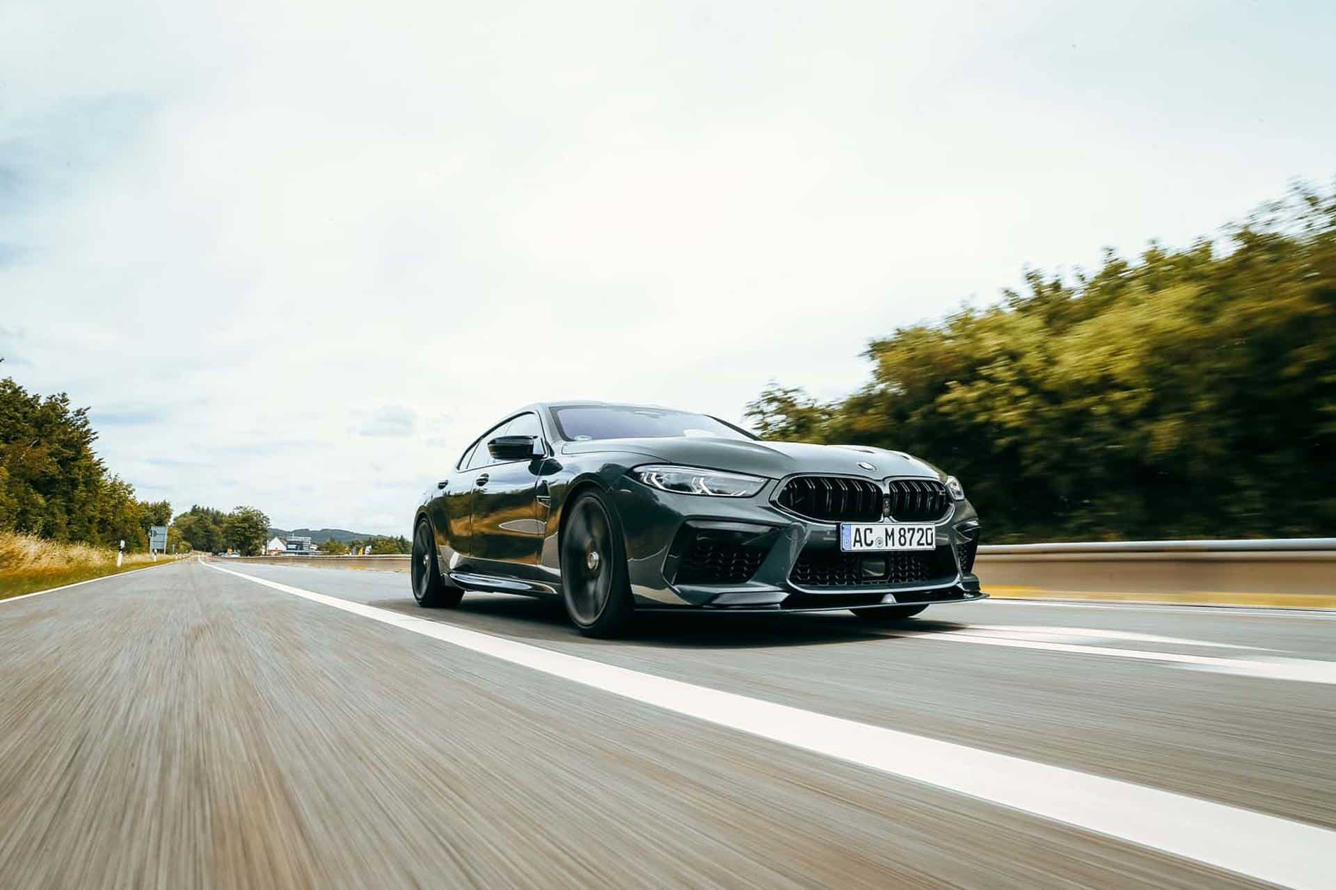 BMW M8 Competition Gran Coupe de AC Schnitzer é muito cruel