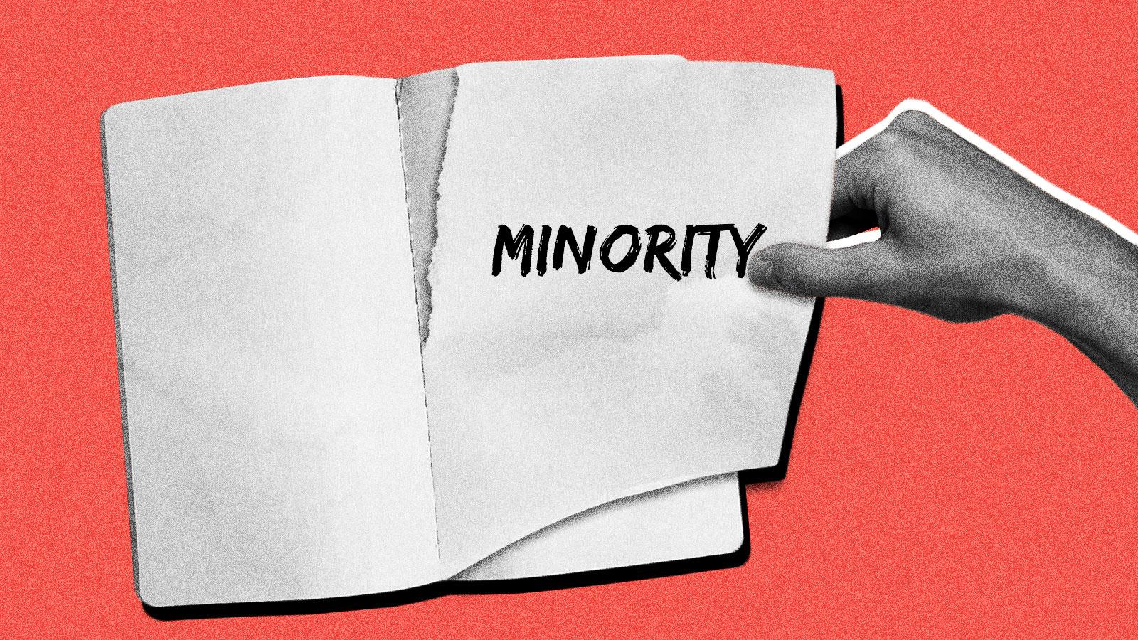 """O termo """"minoria"""" nunca fez sentido. Vamos cancelar."""